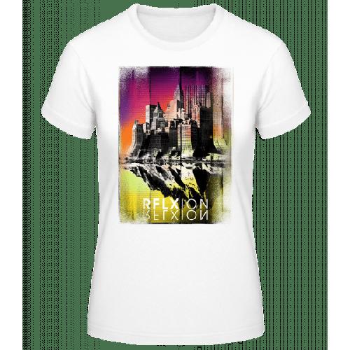 Reflexion - Frauen Basic T-Shirt