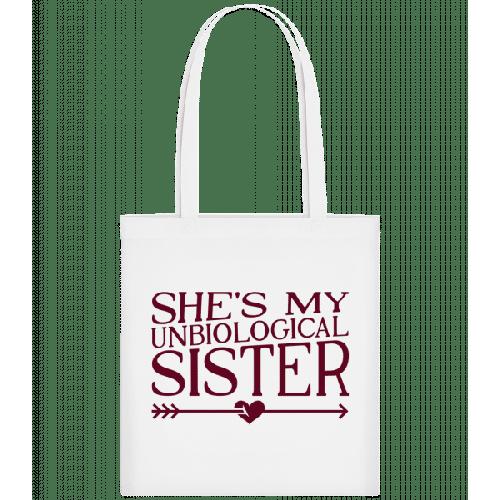 Unbiological Sister - Stoffbeutel