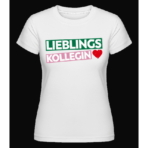 Lieblingskollegin - Shirtinator Frauen T-Shirt