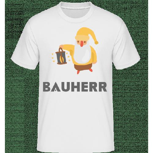 Gartenzwerg Bauherr - Shirtinator Männer T-Shirt