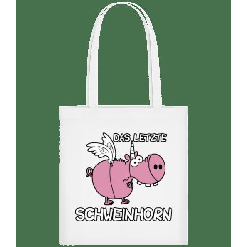 Das Letzte Schweinhorn - Stoffbeutel