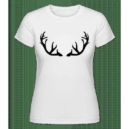 Hirschgeweih - Shirtinator Frauen T-Shirt