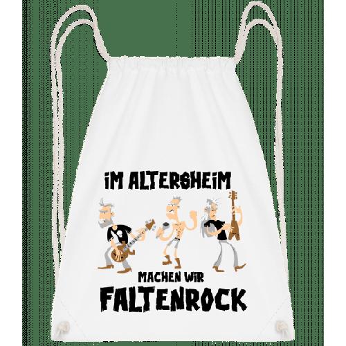 Faltenrock Im Altersheim - Turnbeutel