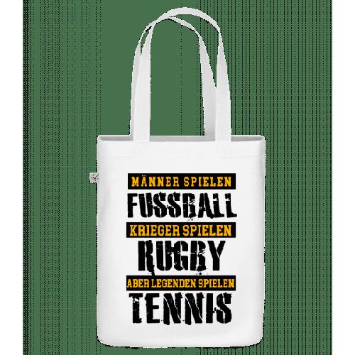 Legenden Spielen Tennis - Bio Tasche