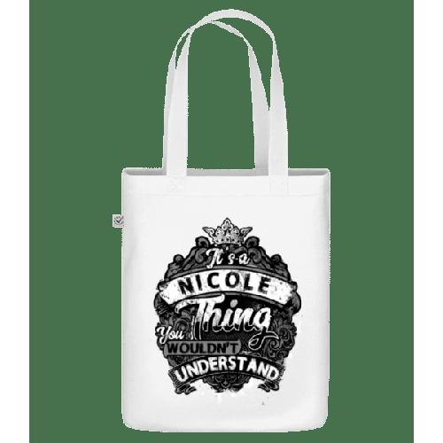 It's A Nicole Thing - Bio Tasche
