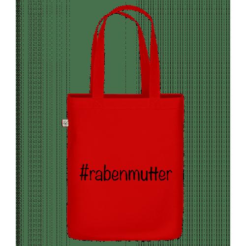 Rabenmutter Hashtag - Bio Tasche