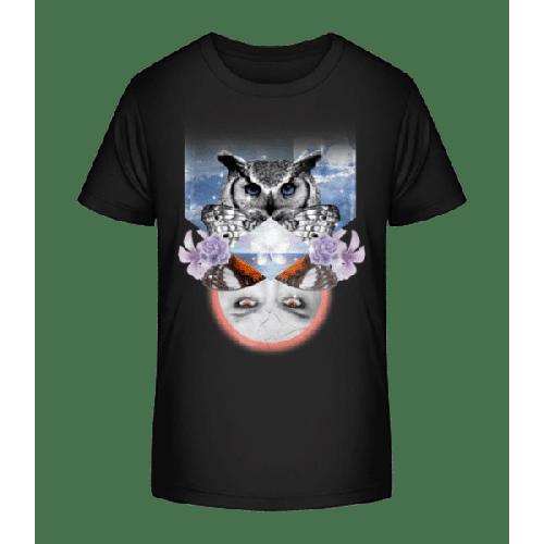 Hipster Ozean - Kinder Premium Bio T-Shirt