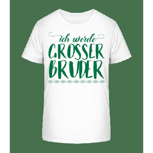 Ich Werde Grosser Bruder - Kinder Premium Bio T-Shirt