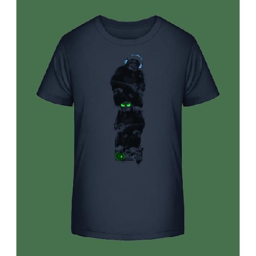 Musik Affen - Kinder Premium Bio T-Shirt