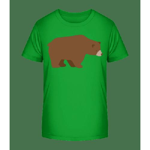 Trauriger Bär - Kinder Premium Bio T-Shirt