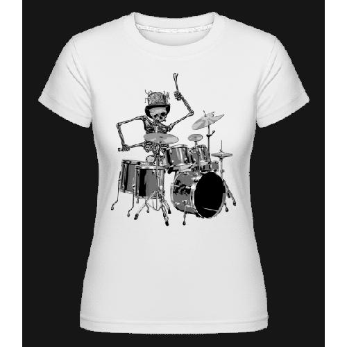 Schlagzeug Skelett - Shirtinator Frauen T-Shirt