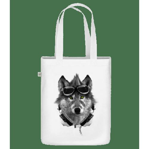 Biker Wolf - Bio Tasche