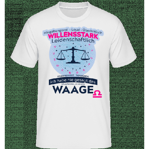 Sternzeichen Waage - Shirtinator Männer T-Shirt