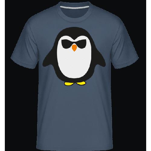 Cooler Pinguin Schwarze Brille - Shirtinator Männer T-Shirt