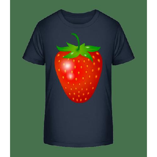 Erdbeere - Kinder Premium Bio T-Shirt