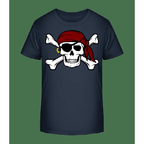 Piraten Totenkopf - Kinder Premium Bio T-Shirt