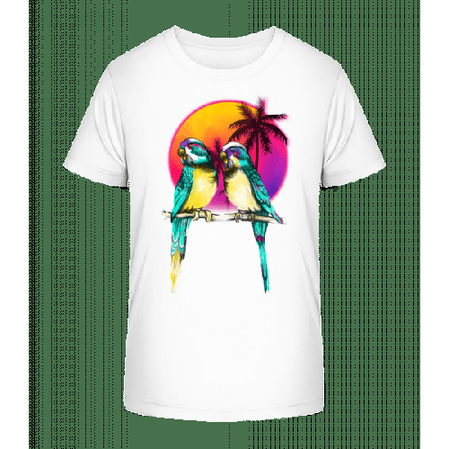 Paradiesvögel - Kinder Premium Bio T-Shirt