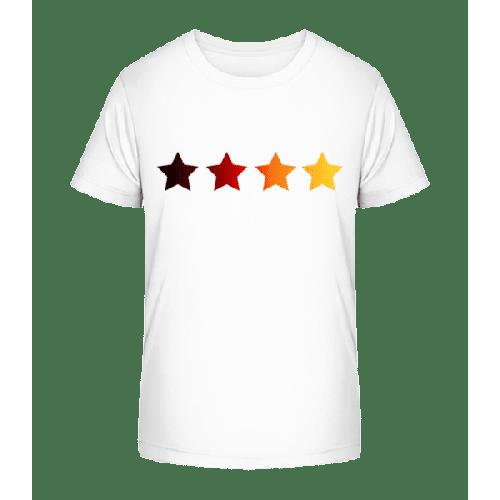 Sterne Deutsche Fahne - Kinder Premium Bio T-Shirt