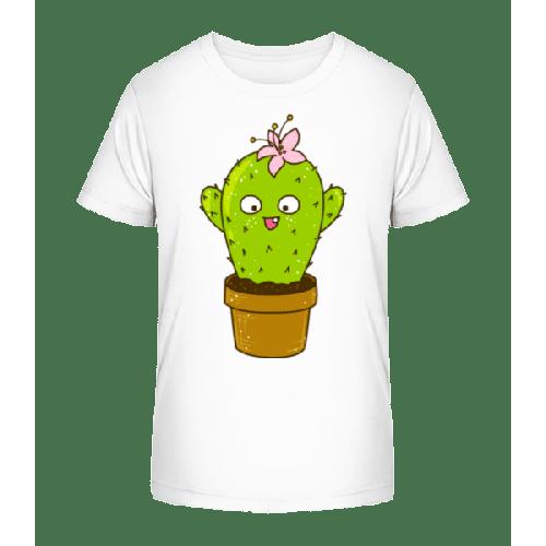 Lustiger Kaktus - Kinder Premium Bio T-Shirt