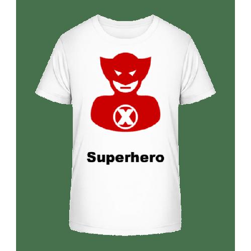 Superhero Icon Red - Kinder Premium Bio T-Shirt