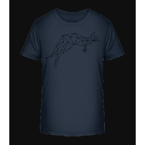 Polygon Känguru - Kinder Premium Bio T-Shirt