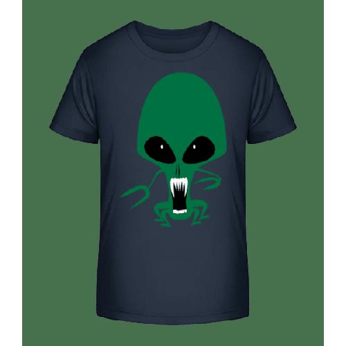 Alien Krake - Kinder Premium Bio T-Shirt