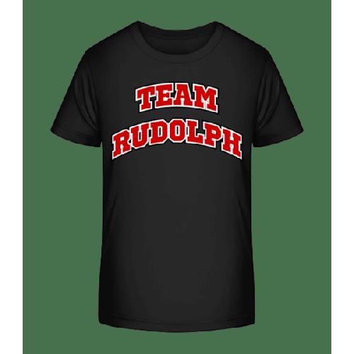 Team Rudolph - Kinder Premium Bio T-Shirt