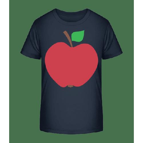 Apfel - Kinder Premium Bio T-Shirt