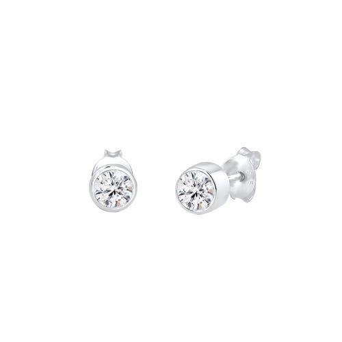 Elli Elli Ohrringe Stecker Kristalle Klassisch 925 Silber Ohrringe Damen