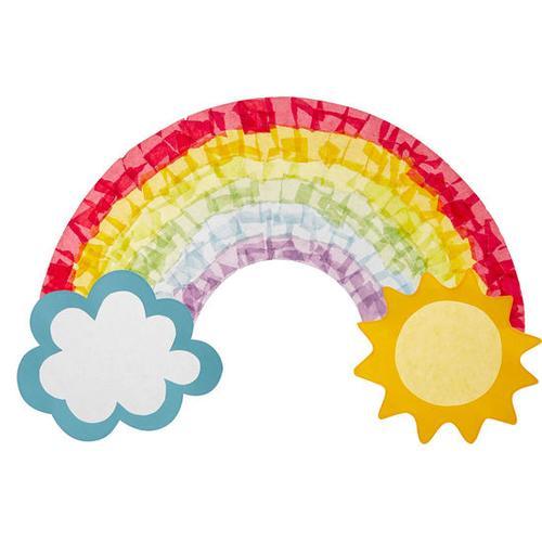 JAKO-O Fensterbild Regenbogen, bunt