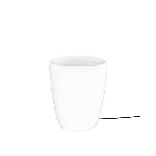 "Pflanzentopf ""Flowerpot S"" in Weiß"