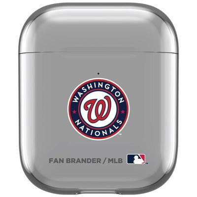 Washington Nationals Air Pods Clear Case