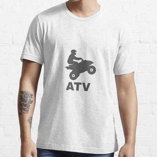 Quad Biker Geschenk ATVs Allrad-Quad Essential T-Shirt
