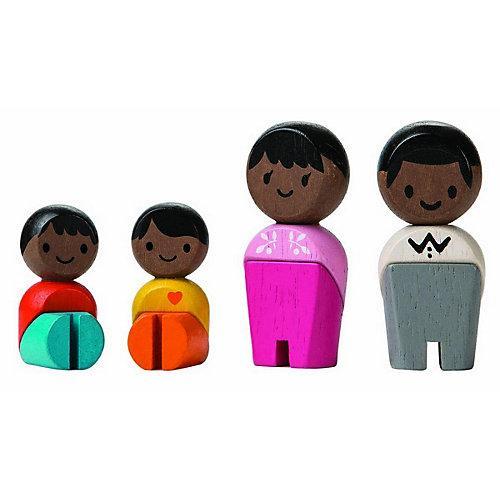 Planworld Spielfiguren Familie ,Afrika Spielfigurensets mehrfarbig
