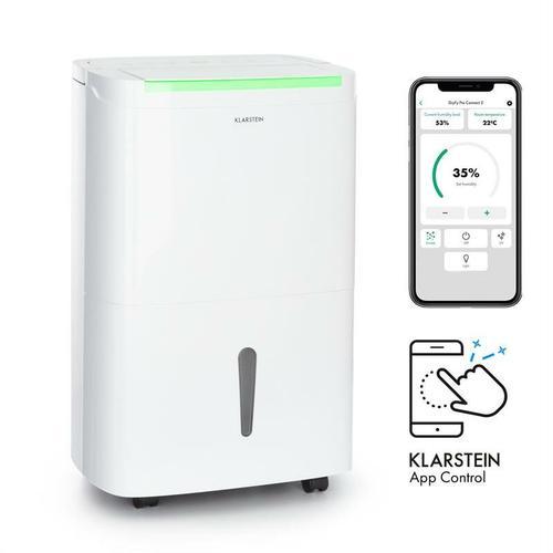DryFy Connect 50 Luftentfeuchter WiFi Kompression 50l/d 45-55m² weiß