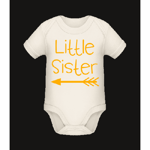 Little Sister - Baby Bio Strampler
