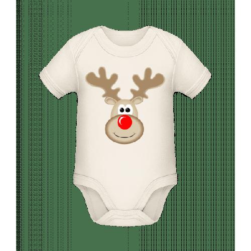 Rentier Logo - Baby Bio Strampler