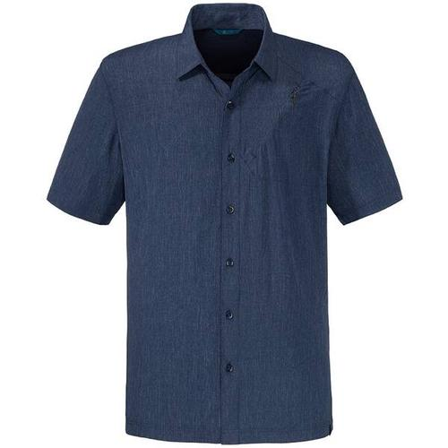 SCHÖFFEL Shirt Freiburg UV, Größe S in Blau