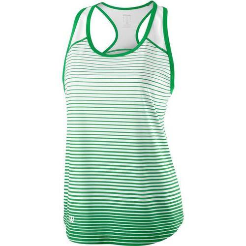 """WILSON Damen Tennis Tanktop \""Team Striped Tank\"""", Größe S in ANDEAN TOUCAN/WHITE"""