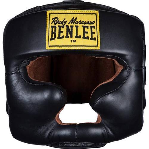 BENLEE Kopfschutz aus Leder FULL FACE PROTECTION, Größe L-XL in Black