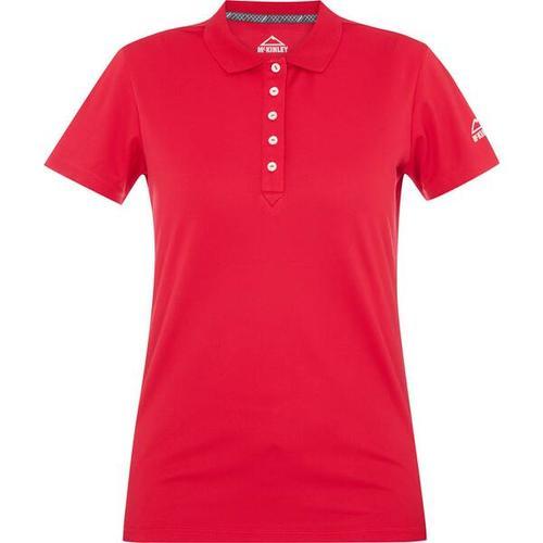 McKINLEY Damen Polo Mako, Größe 38 in Rot