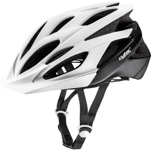 CYTEC Fahrrad-Helm Genesista 2.8, Größe 52 in Weiß/Schwarz