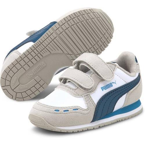 PUMA Kinder Sneaker Cabana Racer SL V Inf, Größe 20 in PUMA WHITE-DRESDEN BLUE