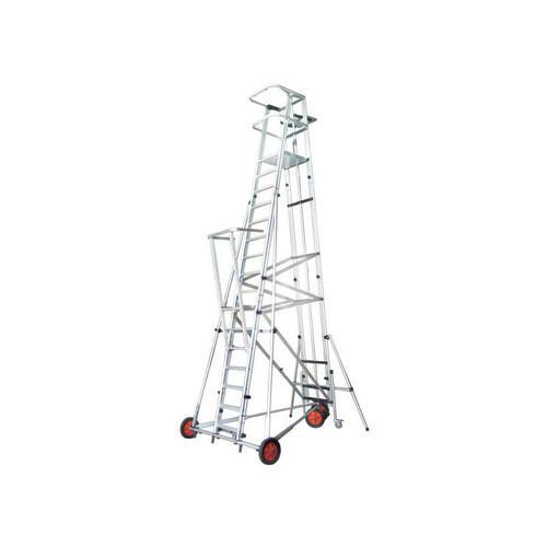 G. Saalleiter ESCA3000 Podesthöhe 4;50m kann vom Podest aus bewegt werden