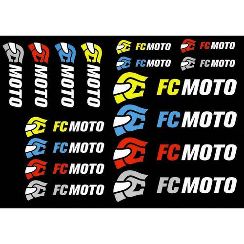 FC-Moto Logo Aufkleber Set