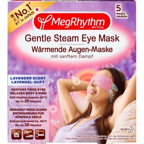 MegRhythm Wärmende Augen-Masken - Lavendel-Duft - 5 Stk. Augenmaske