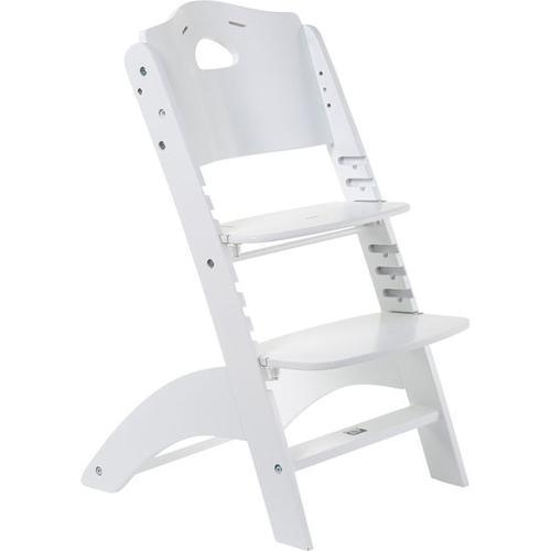 Treppenstuhl Lambda 3, weiß
