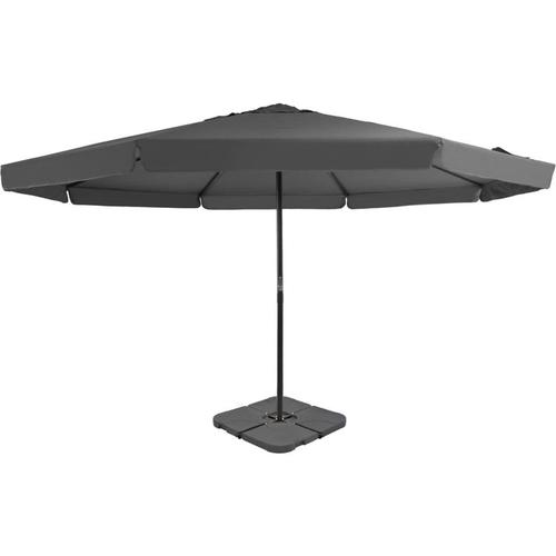 Sonnenschirm mit Schirmständer Anthrazit