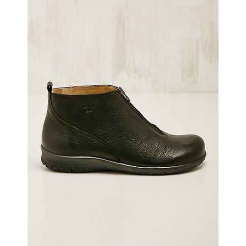 Martin Natur Damen Leder-Stiefeletten Adalena schwarz Boots