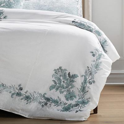 Elianna Embroidered Duvet Cover ...